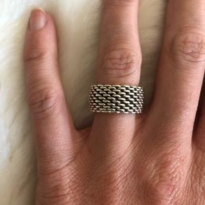 Tiffany & Co. Mesh Ring